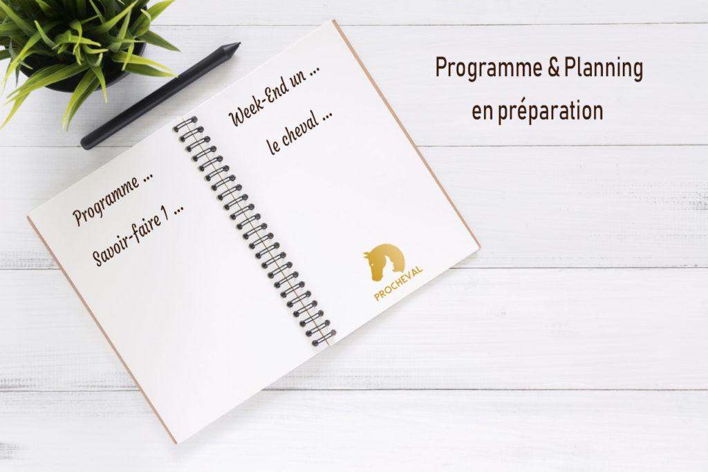 COE planning programme en préparation